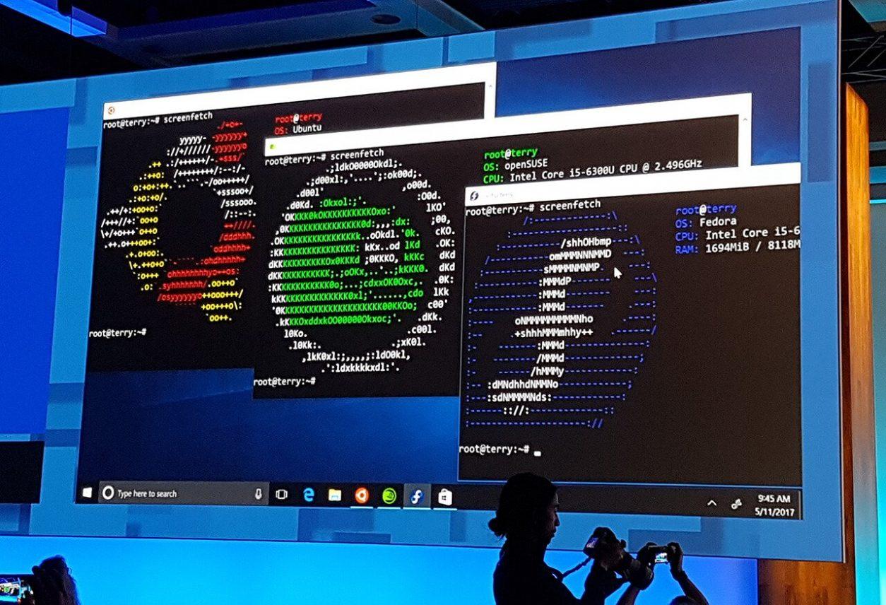 Build: Fedora, Ubuntu en Suse Linux komen naar de Windows Store