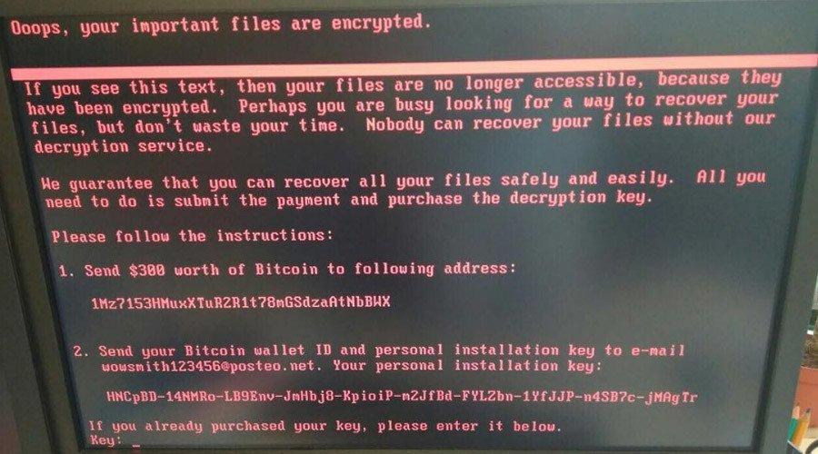 Nieuwe ransomware Petya gaat WannaCry overtreffen