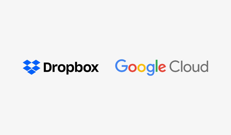Samenwerking Dropbox en Google Cloud voor integratie G Suite
