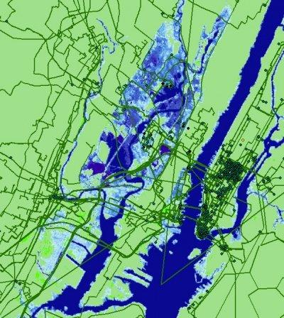 New York internetinfrastructuur onder water