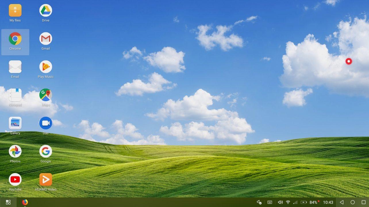 Huawei Mate 20 Pro desktop