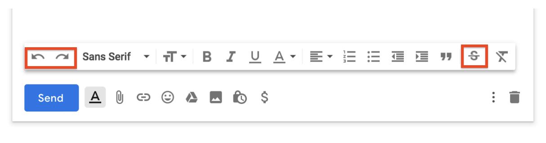 nieuwe functies opmaakvenster Gmail