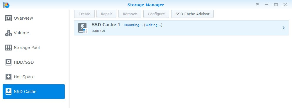 Synology Storage Manager