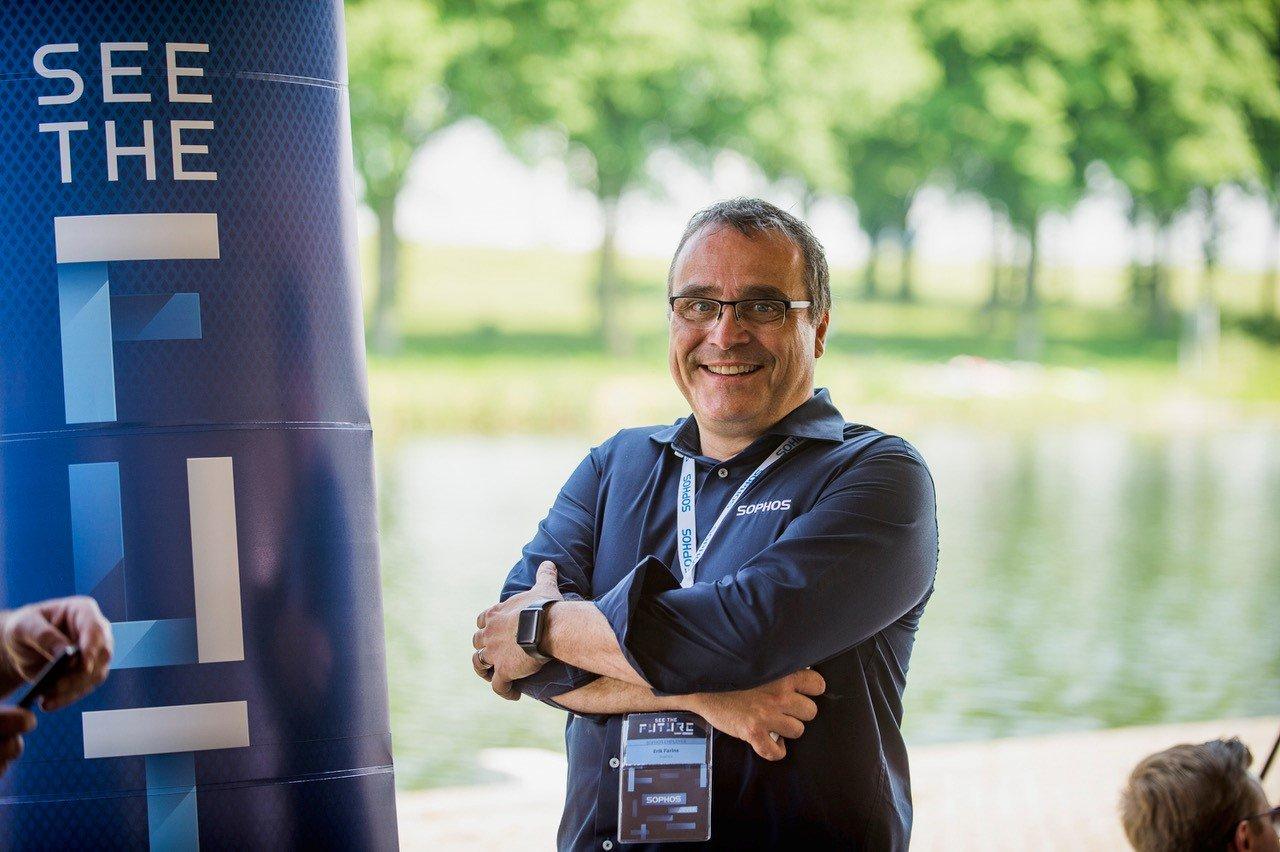 Erik Farine, Regional Director Benelux, Sophos
