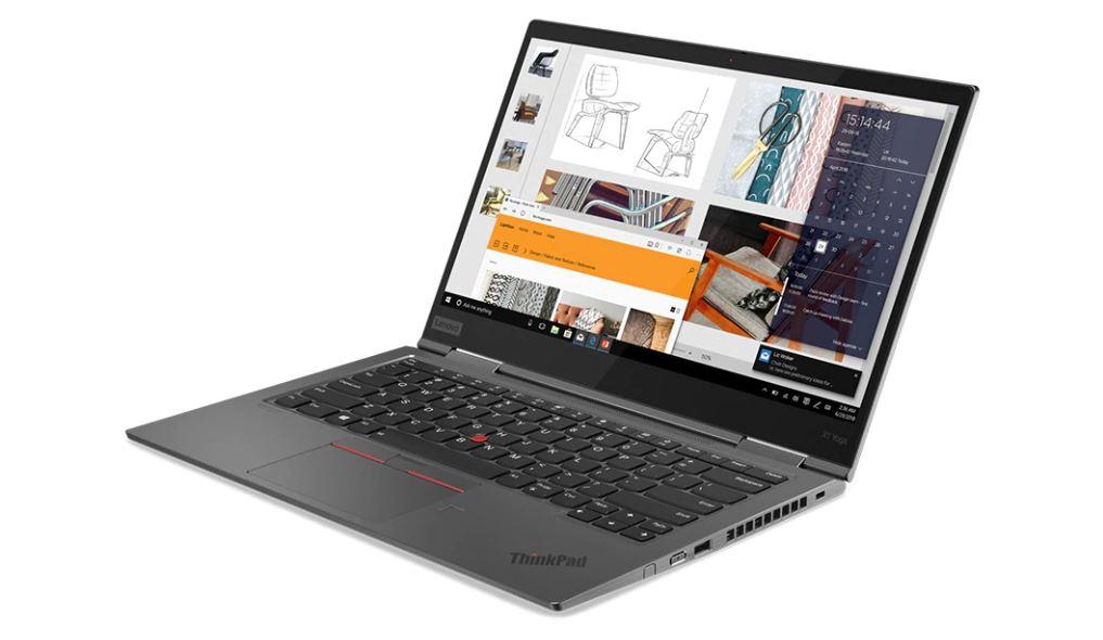 Lenovo Thinkpad X1 Yoga open