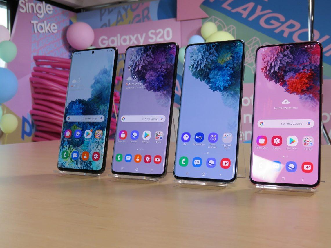Samsung Galaxy S20 line-up