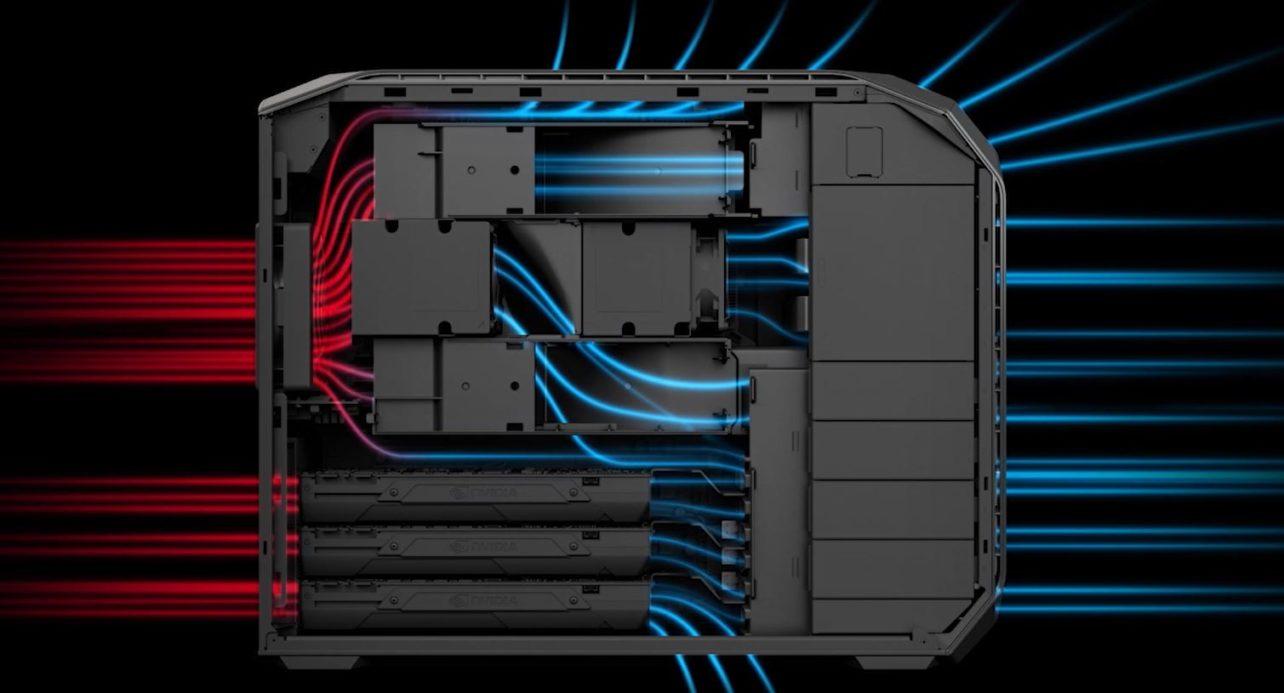 HP Z8 koeling