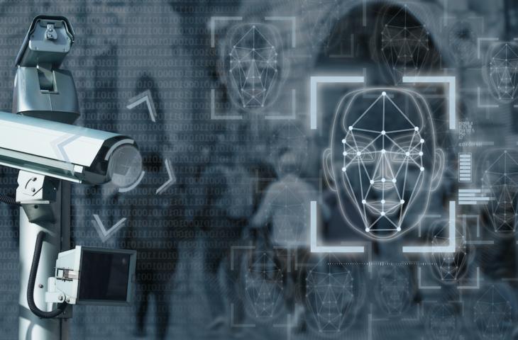 Surveillance gezichtsherkenning
