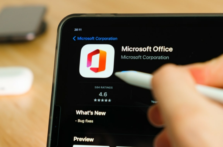 microsoft office ipad pencil