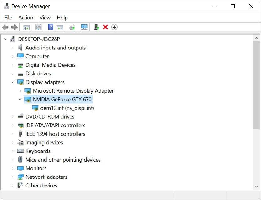 windows 10 driver per hardware