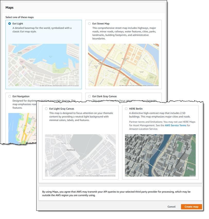 Amazon Location Service AWS