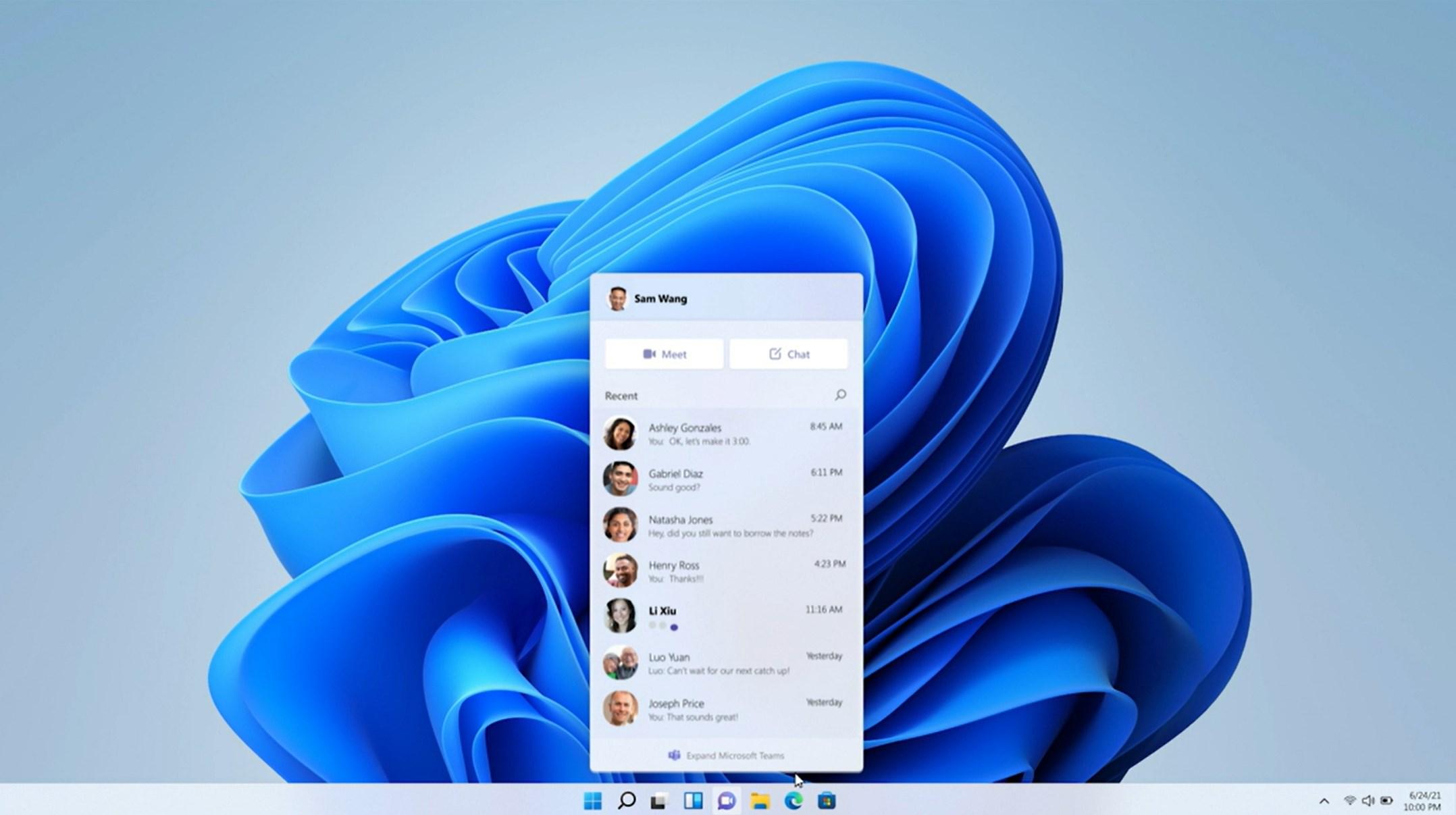 Windows 11 Teams