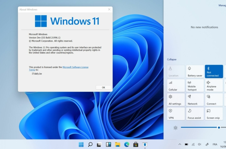 Windows 11 versie