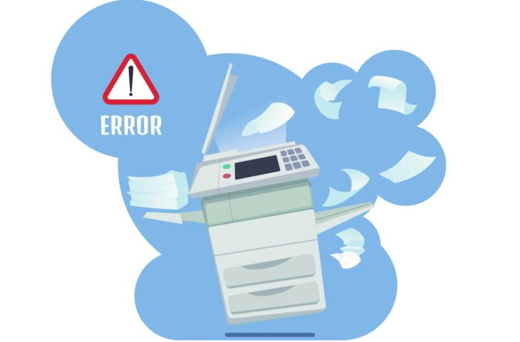 printer fout