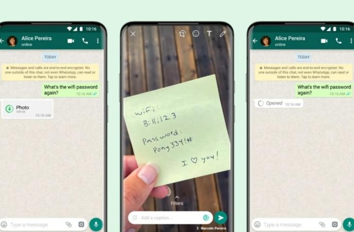 WhatsApp eenmalig bericht