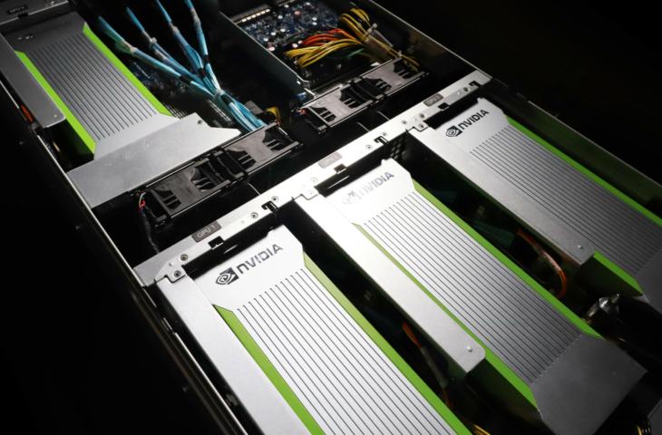 Nvidia A100 server