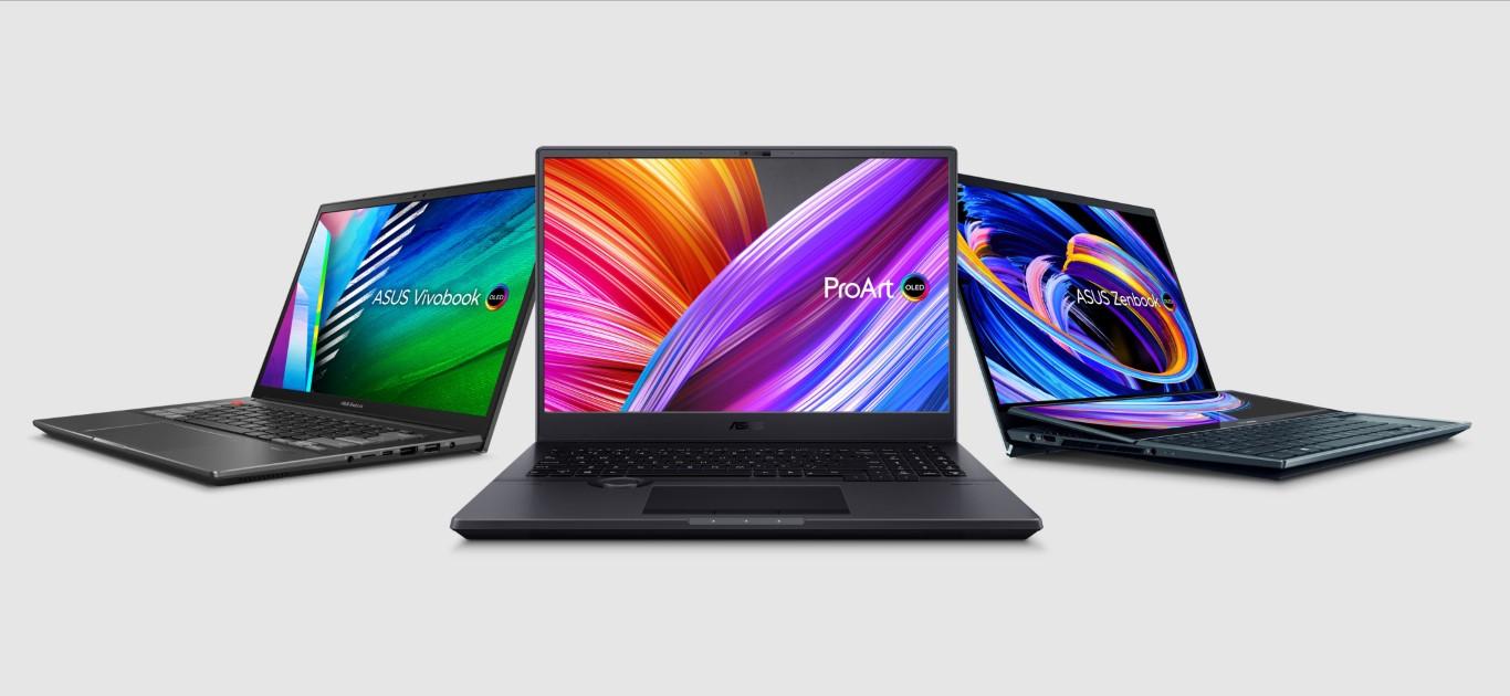 Asus laptop OLED
