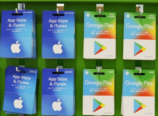 Google, Apple