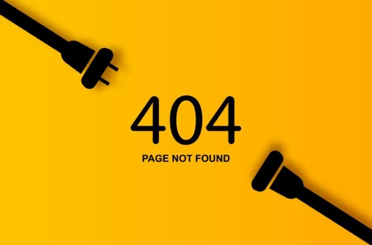 website 404 offline