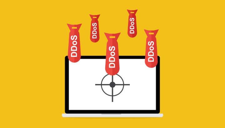DDoS aanval