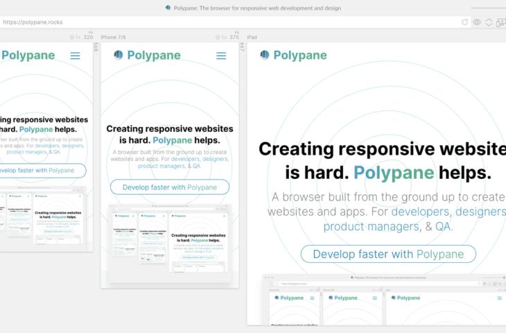 Polypane browser