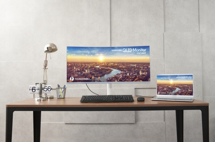 Samsung C34J791 monitor