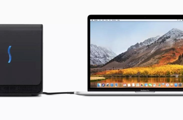 Apple MacBook Pro eGPU