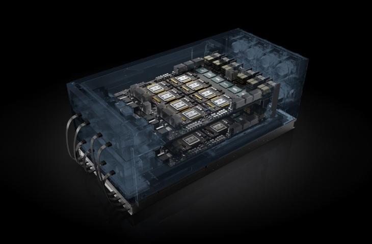 nvidia hgx-2 server