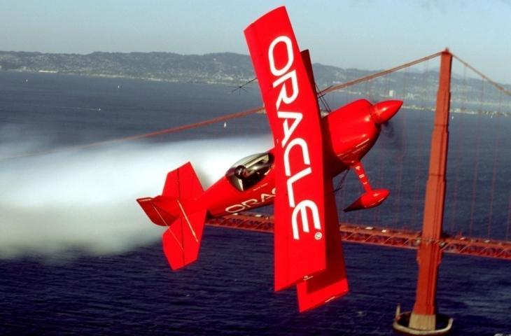 Oracle vliegtuig