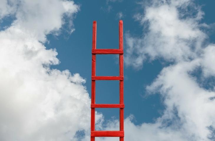 ladder in de cloud