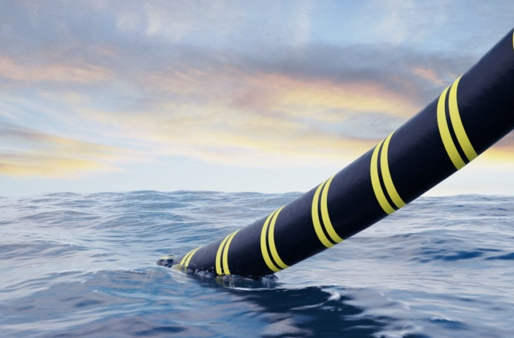 onderzeese glasvezelkabel