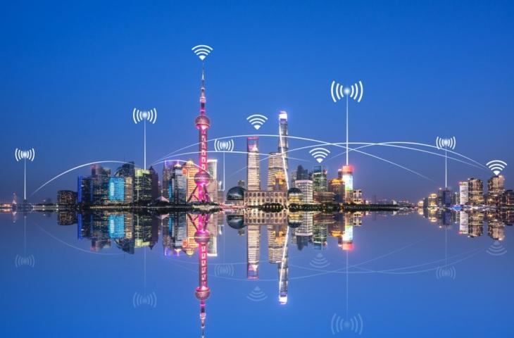 China Shanghai smart city