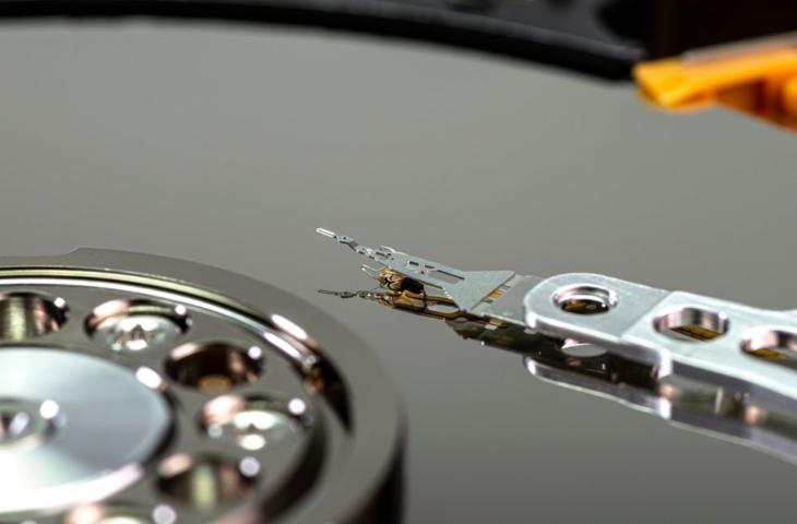 Bitrot HDD platter