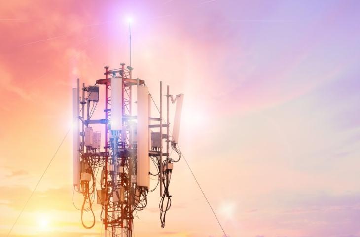 5G netwerkmast