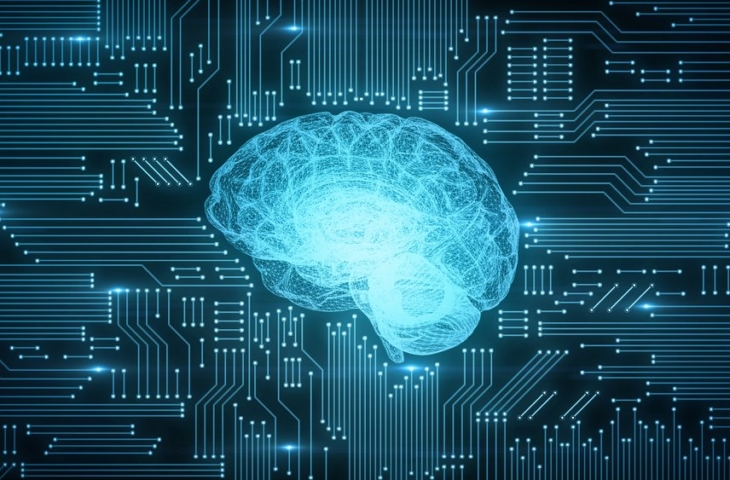 AI processor menselijk brein