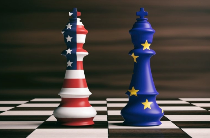 EU VS Europese Unie Verenigde Staten